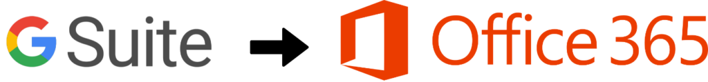 Gsuite to Office 365